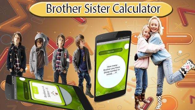 Brother Sister Calculator poster