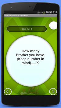 Brother Sister Calculator apk screenshot
