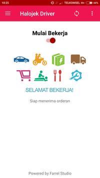 Halojek Driver poster