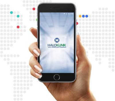 HaloKlinik: Your Healthcare Mobile App poster