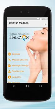 Halcyon Med Spa poster