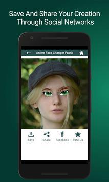 Anime Face Changer Prank apk screenshot