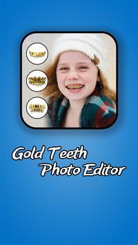 Gold Teeth Photo Editor poster