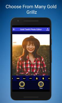 Gold Teeth Photo Editor apk screenshot