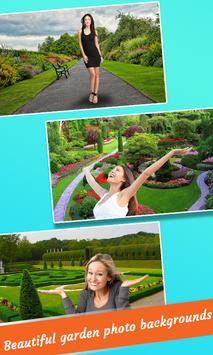 Garden Photo Maker : Garden Photo Frames Editor poster