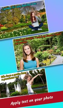 Garden Photo Maker : Garden Photo Frames Editor apk screenshot