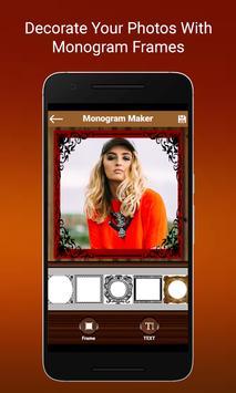 Monogram Maker poster