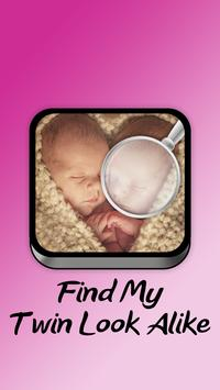 Find My Twin Look Alike poster