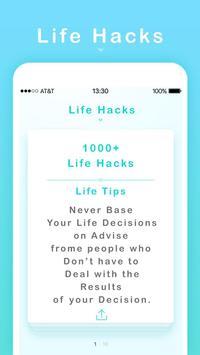 New Life Hacks apk screenshot