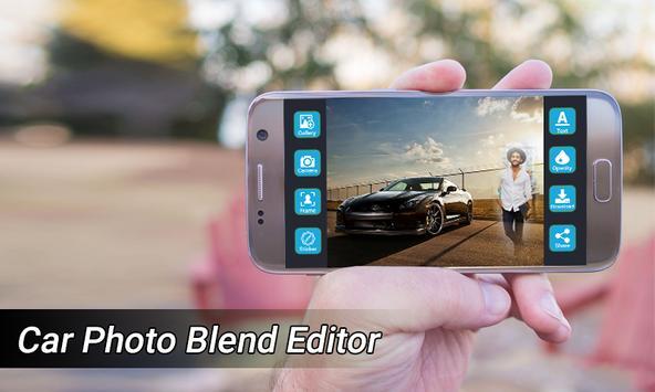 Car Photo Blend Editor poster