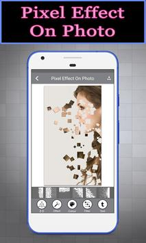Pixel Effect On Photo poster