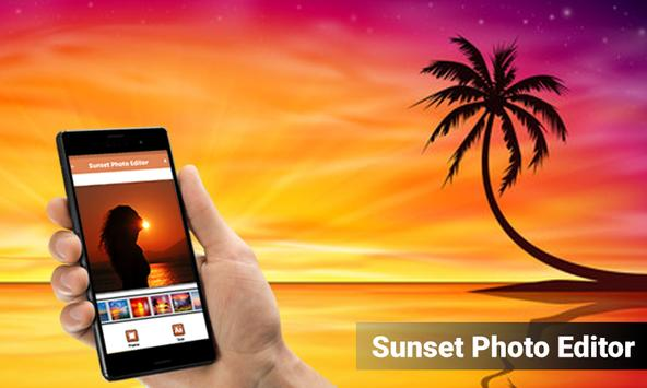 Sunset Photo Editor poster