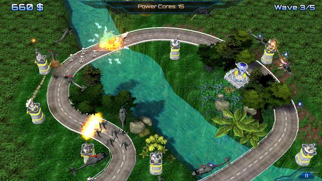 Tower Defense 3D: Energy War apk screenshot