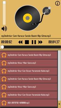 BÖTE Mp3 Oynatıcı screenshot 1