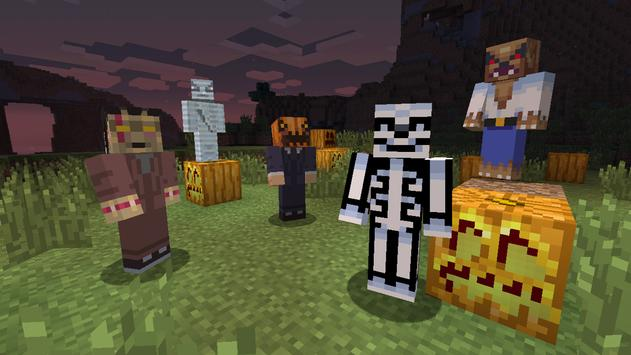 Halloween Skins for Minecraft poster