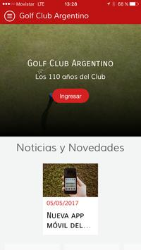 Golf Club Argentino poster
