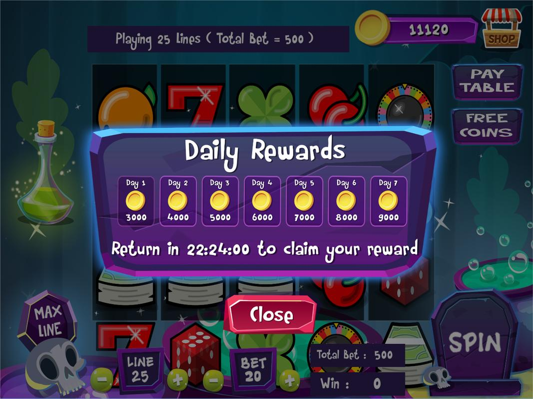 halloween slots fortune - free slots machine for android - apk download