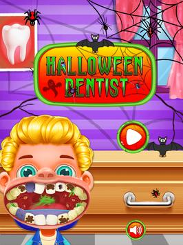 Halloween Crazy Dentist Salon poster