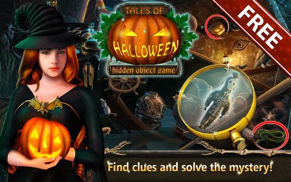 Hidden Objects Tales Of Halloween screenshot 1