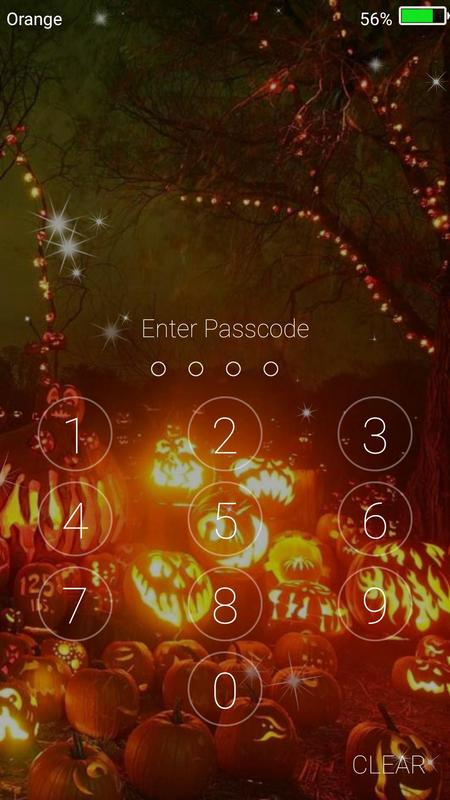 halloween live wallpaper lock screen screenshot 6