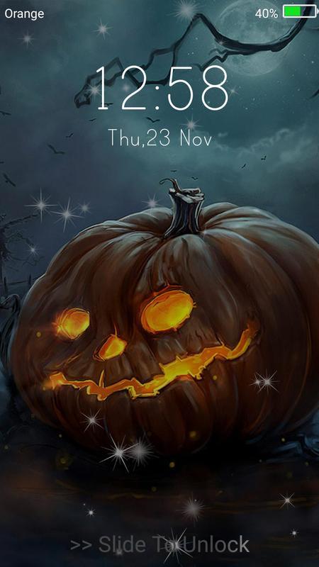 Halloween Monster Live Wallpaper Lock Screen 11