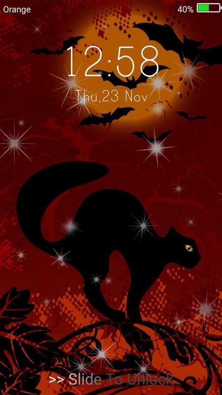 Halloween Monster Live Wallpaper Lock Screen 3
