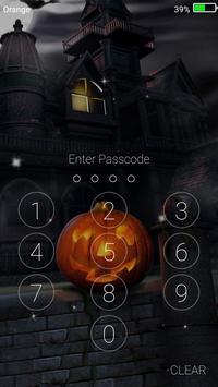 Halloween Monster Live Wallpaper Lock Screen Screenshot