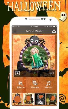 Halloween HD Movie Maker apk screenshot