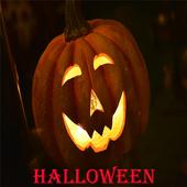 Flag of Halloween icon