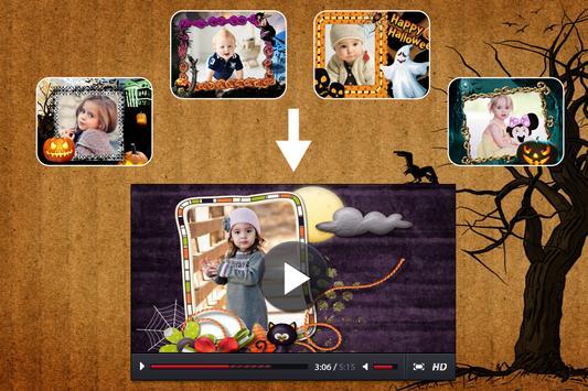 Halloween Photo Video Music poster