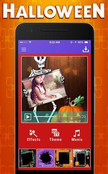 Halloween Photo Video Music apk screenshot