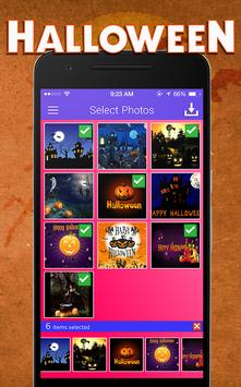 Halloween Photo Movie Maker apk screenshot