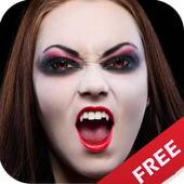 Halloween Makeup Face Changer icon