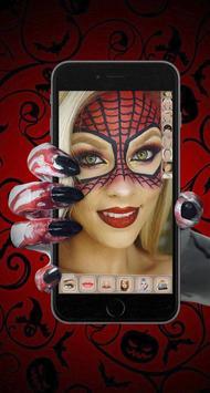 Scary Halloween Face Makeup screenshot 1