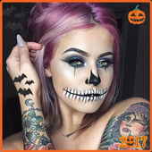 Halloween makeup ideas easy icon