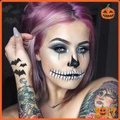 Halloween makeup ideas easy icon