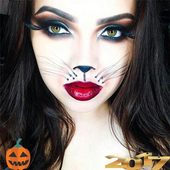 Halloween makeup icon