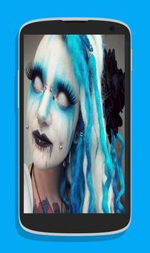 Halloween makeup poster
