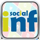 Rihanna Social INF icon