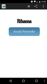 Rihanna Social INF poster