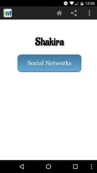 Shakira Social INF poster