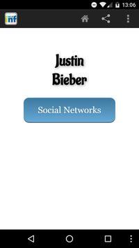 Justin Bieber Social INF poster
