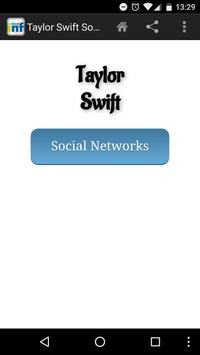 Taylor Swift Social INF poster