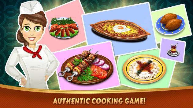 عالم الكباب - لعبة طهي الملصق