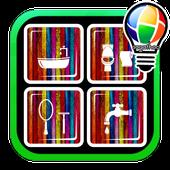 أفكار تصميم الحمام icon