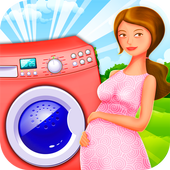 Mommy Care Laundry icon