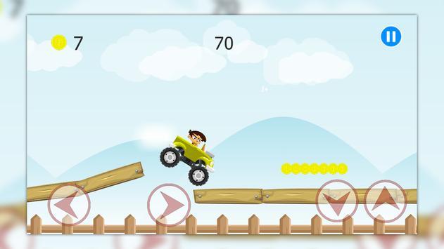 Racing game Hamidou bad boy poster