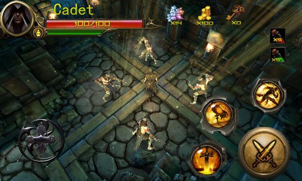 Ninja Adventure Time:Dark Path screenshot 2