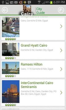 Cairo CityGuide screenshot 2