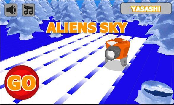 aliens sky poster